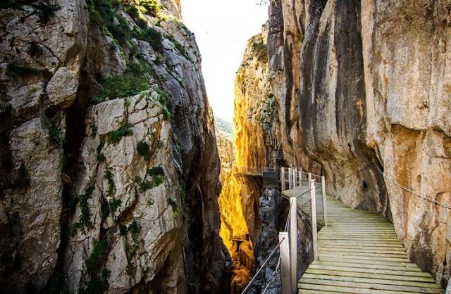 Hiking di El Caminito del Rey, El Chorro, Spanyol