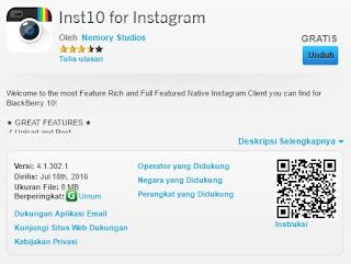 Download Aplikasi Instagram Untuk Semua Tipe Blackberry