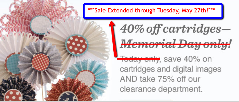Capadia Designs: Cricut Memorial Day Sale Extended