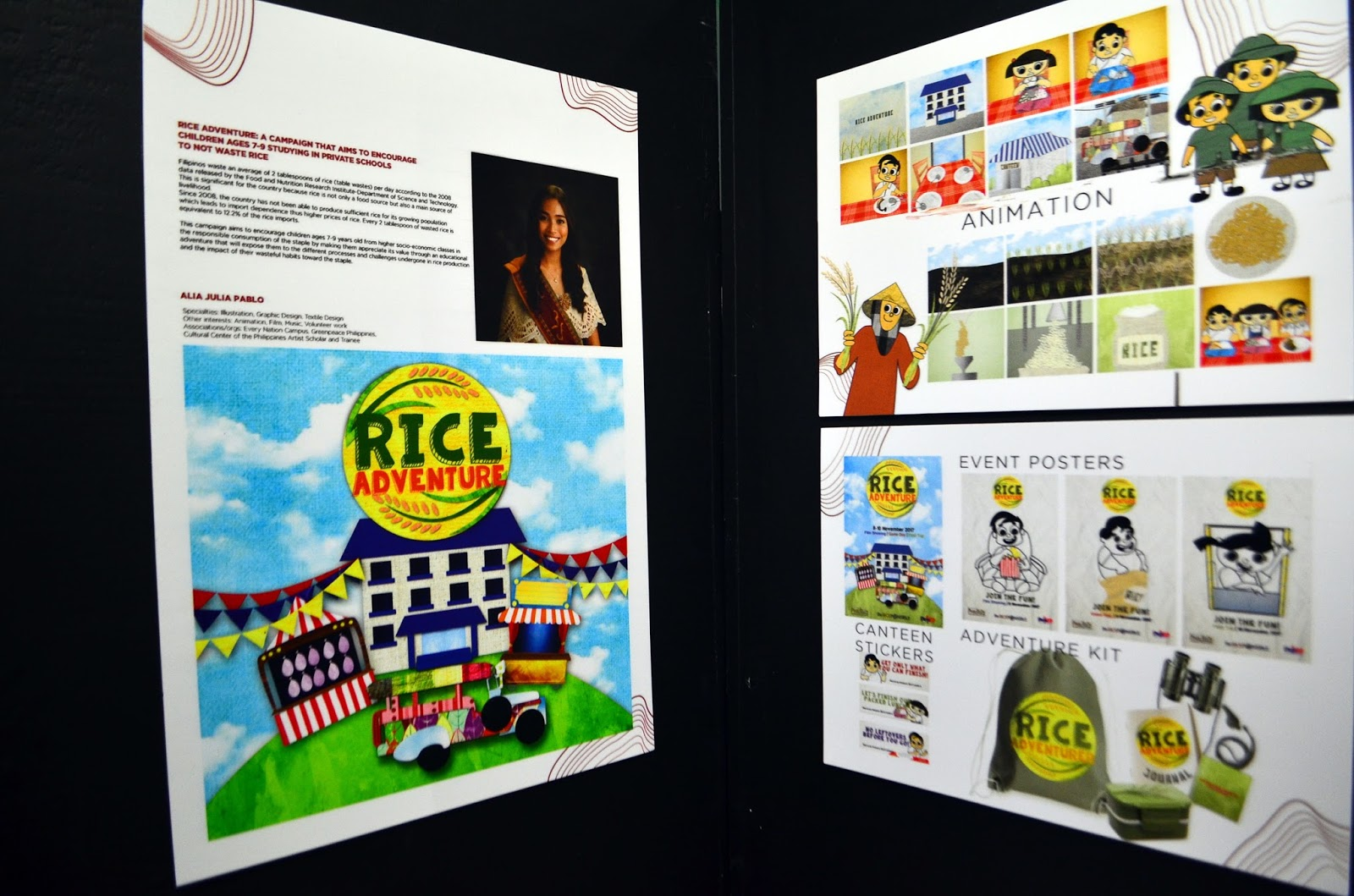 PULSO product rice conservation for private school students
