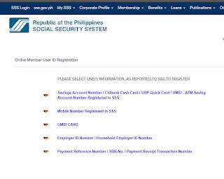 SSS online membership