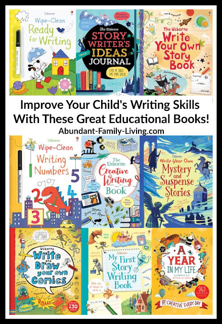 Give your kids a boost to help them develop their writing skills!