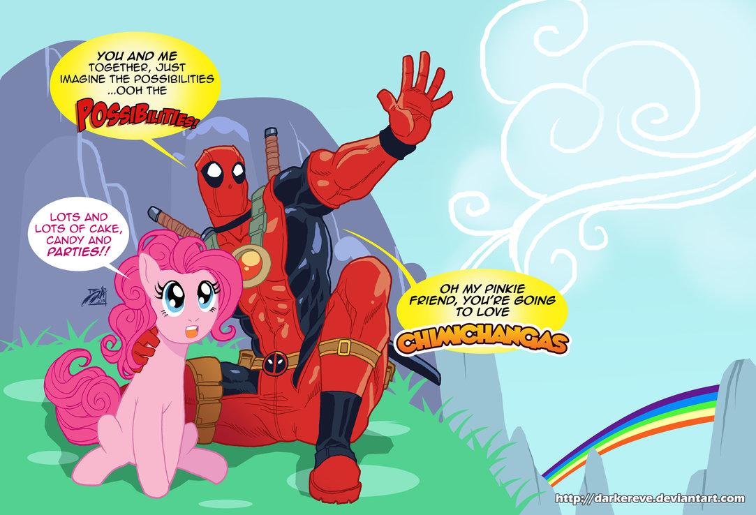 Equestria Daily Mlp Stuff Deadpool Really Likes Unicorns
