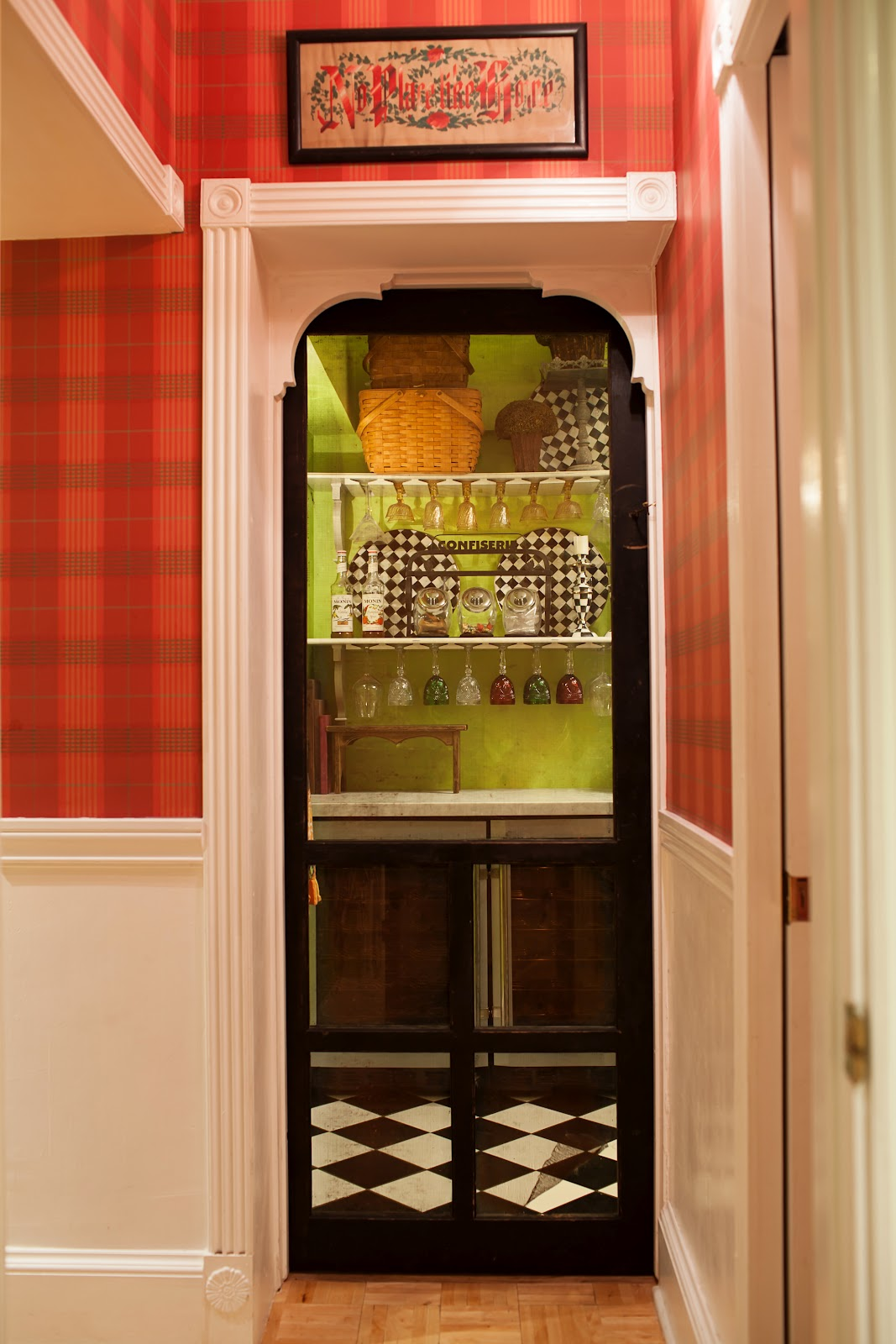 An Old Screen Door And My Laundry Room