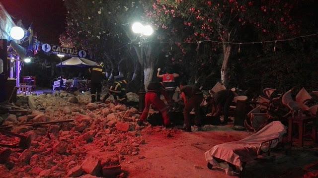 Δύο νεκροί και πολλοί τραυματίες στην Κω από το σεισμό των 6,4 Ρίχτερ