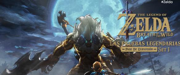 Zelda: Breath of the wild nos enseña las pruebas legendarias, su primera expansión