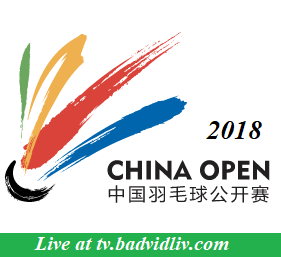 China Open 2018 live streaming