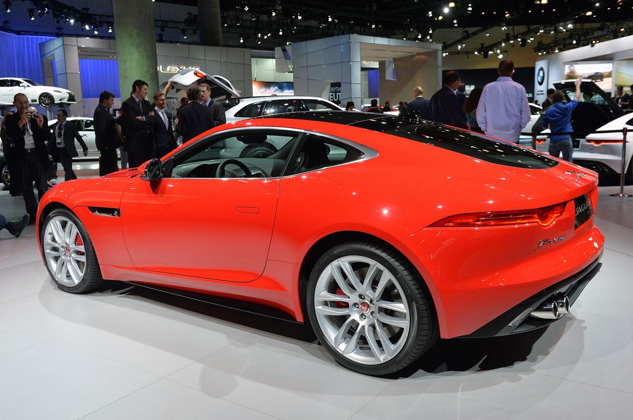 © Automotiveblogz: Jaguar F-Type Coupe LA 2013 Photos