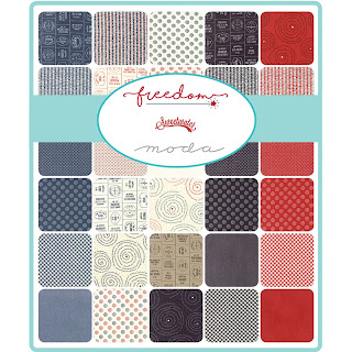 Moda Freedom Fabric by Sweetwater for Moda Fabrics