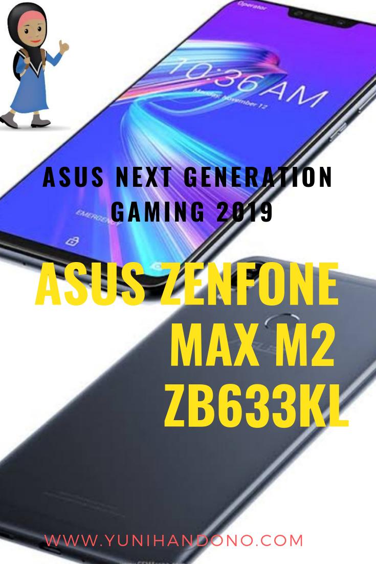 ASUS ZENFONE MAX M2 ZB633KL, Smartphone Android Untuk Gaming Dengan Harga Terjangkau