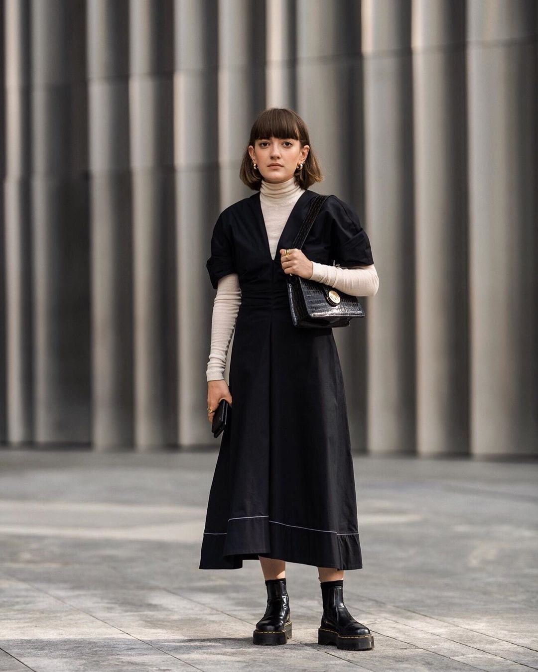 25 Dresses That Perfectly Layer Over Turtlenecks