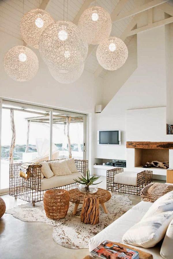 A Stunning Beach House Via The Style Files