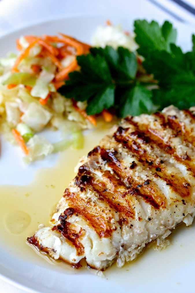 This spicy grilled rockfish is filled with the flavors of cayenne, garlic, and basil. This dish is so easy to make, and brings out the delicious flavor of the fish without overwhelming it.