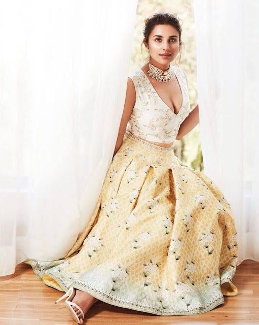 Parineeti Chopra sparkling look on Femina Wedding Times