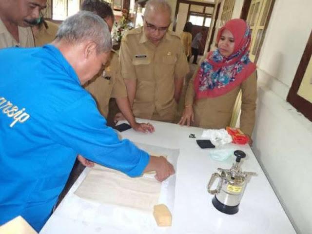 Direktorat Preservasi ANRI Restorasi Arsip Warisan Budaya di Maluku