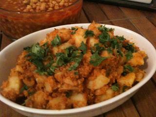 Bohra masala potatoes Recipe