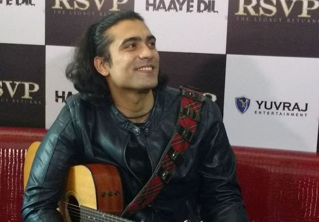 'Haaye Dil' song launch in Delhi, Jubin Nautiyal