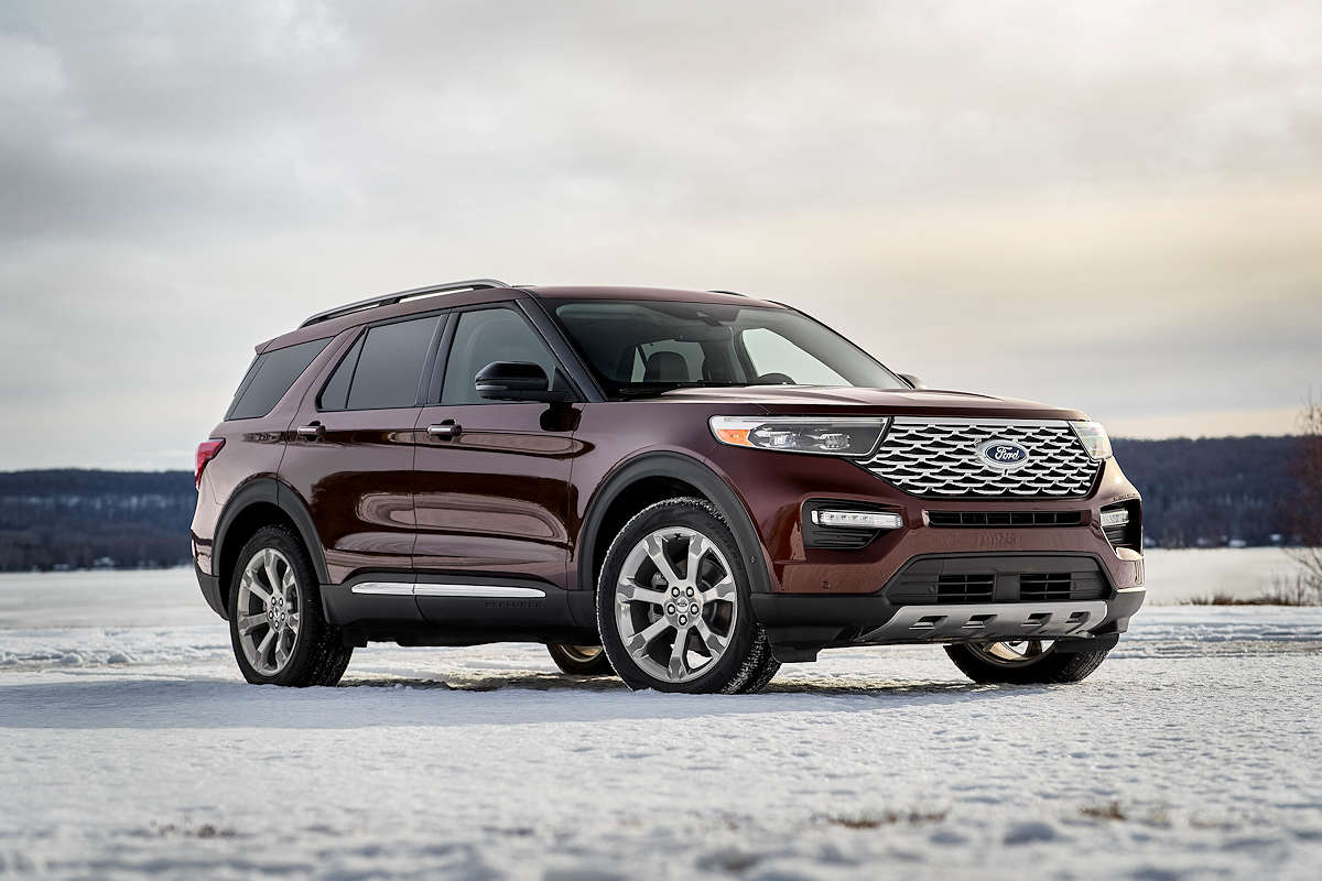 Ford Shows Off All New 2020 Explorer W 21 Photos