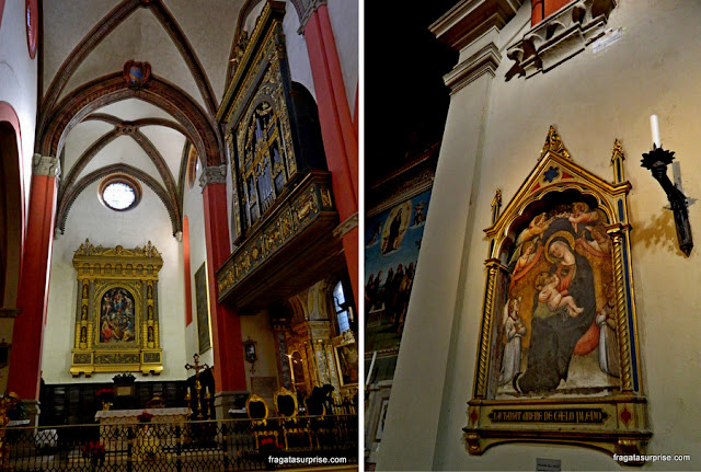 Altares da Basílica de São Petrônio, Bolonha, Itália
