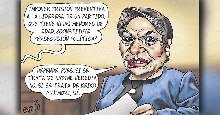 Carlincaturas Lunes 26 Noviembre 2018 - La República