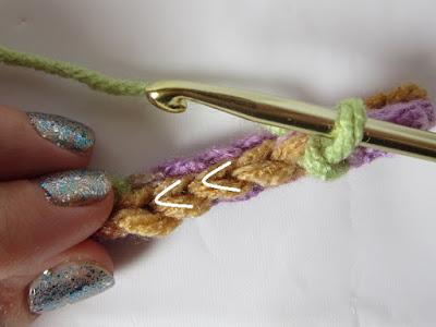 crochet, how to, slip stitch, stitch direction