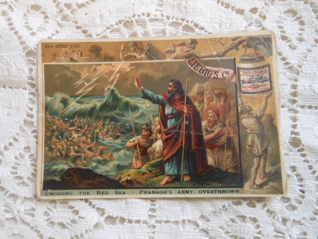 trade card bible story
