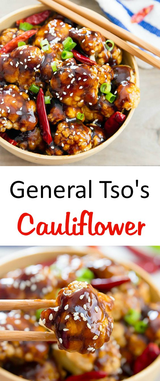 GENERAL TSO'S CAULIFLOWER  #masonjar #healthy #recipes #greatist #vegetarian #breakfast #brunch  #legumes #chicken #casseroles #tortilla #homemade #popularrcipes #poultry #delicious #pastafoodrecipes  #Easy #Spices #ChopSuey #Soup #Classic #gingerbread #ginger #cake #classic #baking #dessert #recipes #christmas #dessertrecipes #Vegetarian #Food #Fish #Dessert #Lunch #Dinner #SnackRecipes #BeefRecipes #DrinkRecipes #CookbookRecipesEasy #HealthyRecipes #AllRecipes #ChickenRecipes #CookiesRecipes #ріzzа #pizzarecipe #vеgеtаrіаn #vegetarianrecipes #vеggіеѕ #vеgеtаblеѕ #grееnріzzа #vеggіеріzzа #feta #pesto #artichokes #brоссоlіSаvе   #recipesfordinner #recipesfordinnereasy #recipeswithgroundbeef  #recipeseasy #recipesfordinnerhealth #AngeliqueRecipes #RecipeLion #Recipe  #RecipesFromTheBlog #RecipesyouMUST #RecipesfromourFavoriteBloggers