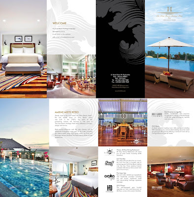 contoh referensi inspirasi desainer grafis hotel katalog menarik keren kreatif bagus elegan eksklusif cetak biaya full color warna separasi digital printing offset