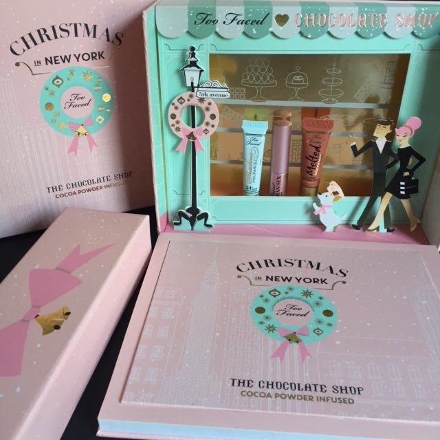 Too Faced Christmas In New York The Chocolate Shop Review