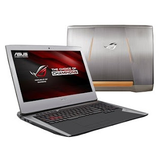 Asus ROG GL752VL Drivers Windows 8.1 and Windows 10 64 bit