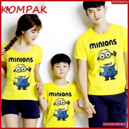 AKC238K48 Kaos Couple Anak 238K48 Keluarga BMGShop
