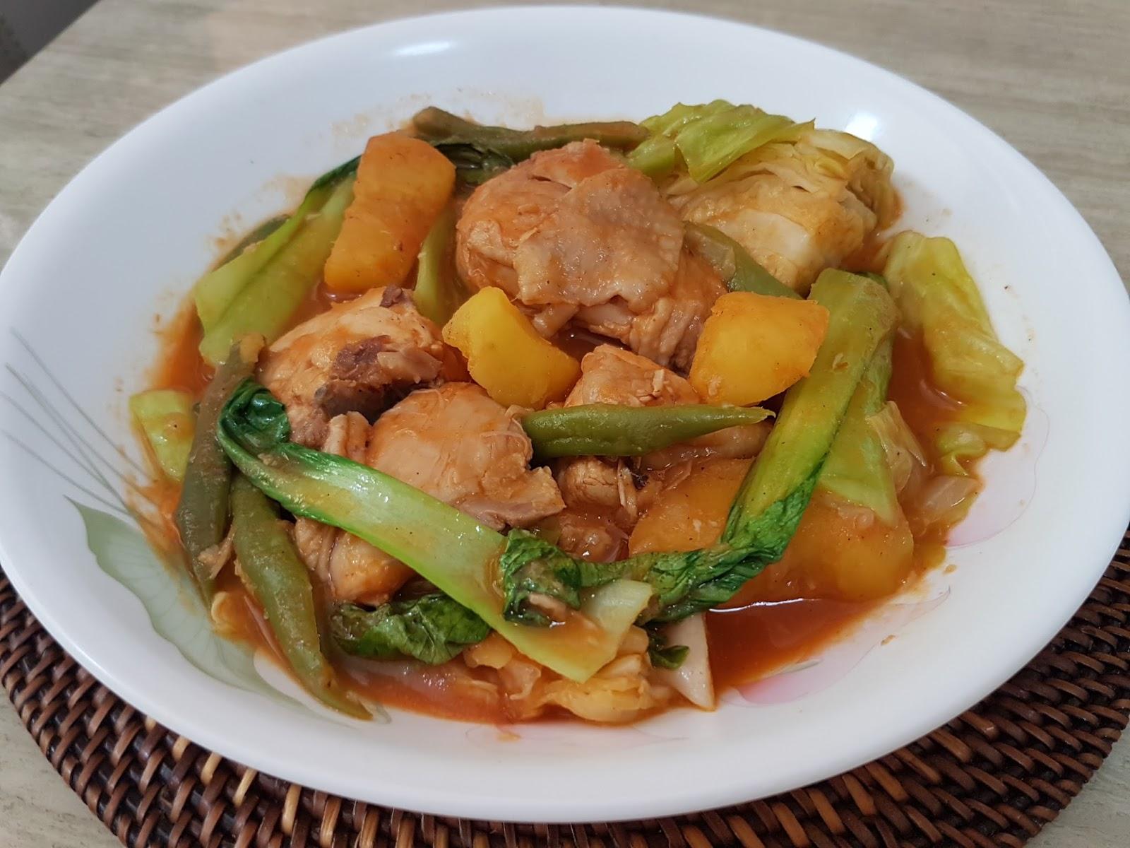 how to cook pocherong manok