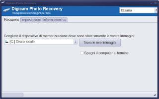 Programma Digicam Photo Recovery