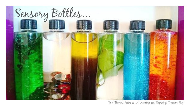 Learning And Exploring Through Play Sensory Bottles Diy