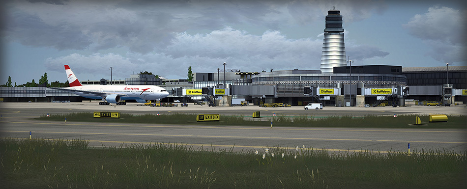 P3Dv4] - Fly Tampa - Vienna International Airport (LOWW) v3