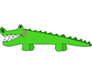 free clip art alligator image jpg 300 dpi cartoon alligator drawing