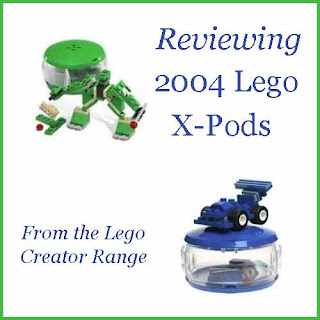 Reviewing the 2004 Lego X-Pods