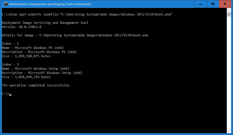 Tech-niques: Windows Deployment Services: Boot wim fails to Load