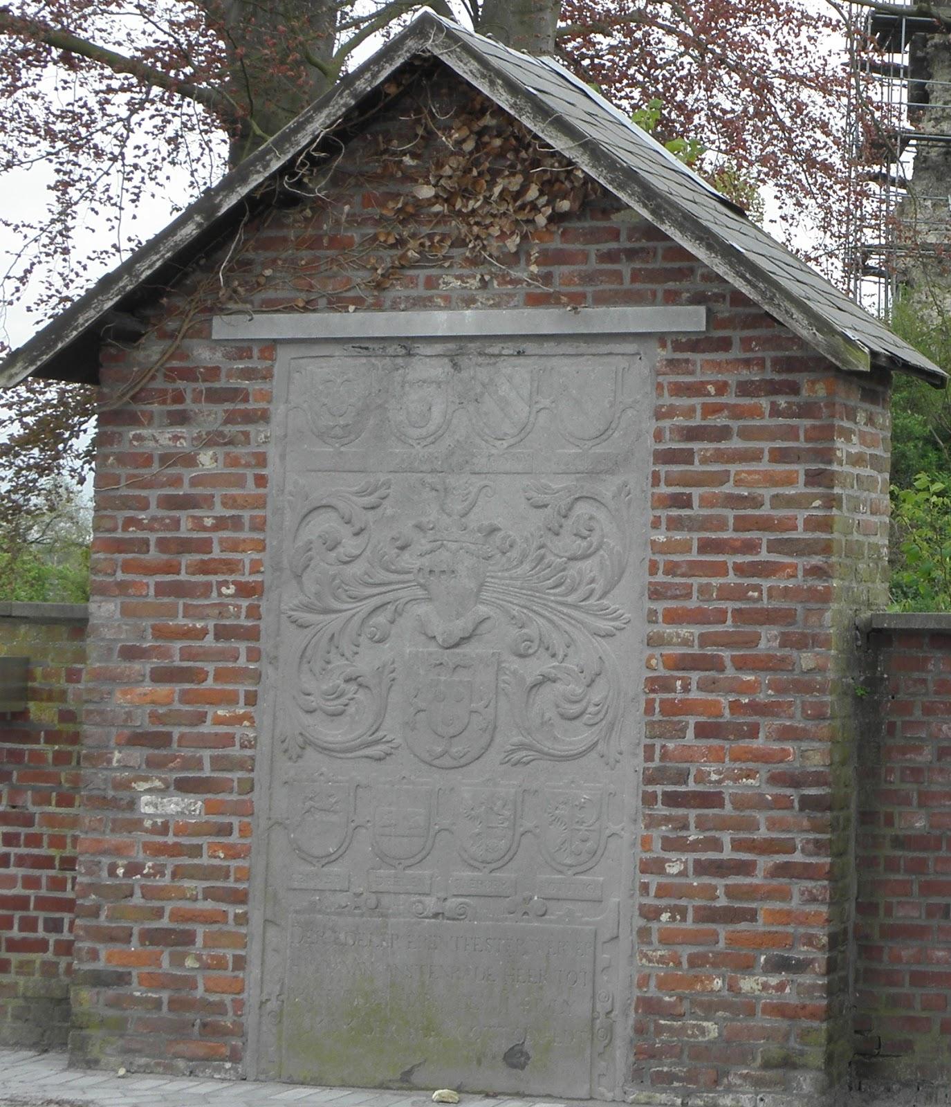 Weer een stukje historisch friesland in belgi ontdekt historische vereniging noordoost friesland - Muur steen duidelijk ...