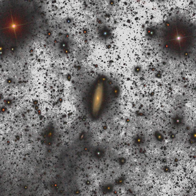 La imagen más profunda del Universo ha sido captada por el gran telescopio de de Canarias