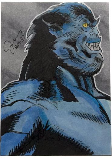 Beast Sketch Card