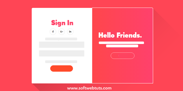 Beautiful Sign In & Sign Up Form