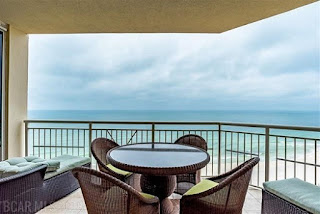 Indigo Condos For Sale, Pensacola FL Real Estate Unit 1102E Balcony View