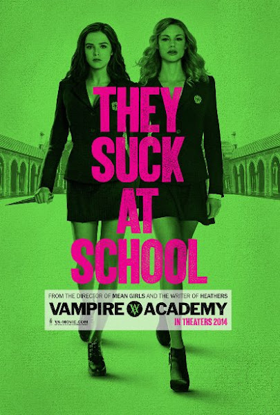 Poster Of Vampire Academy 2014 720p BRRip Dual Audio