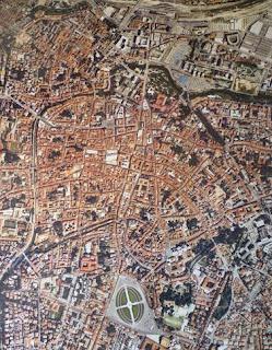 Fotografía aérea de Padova.