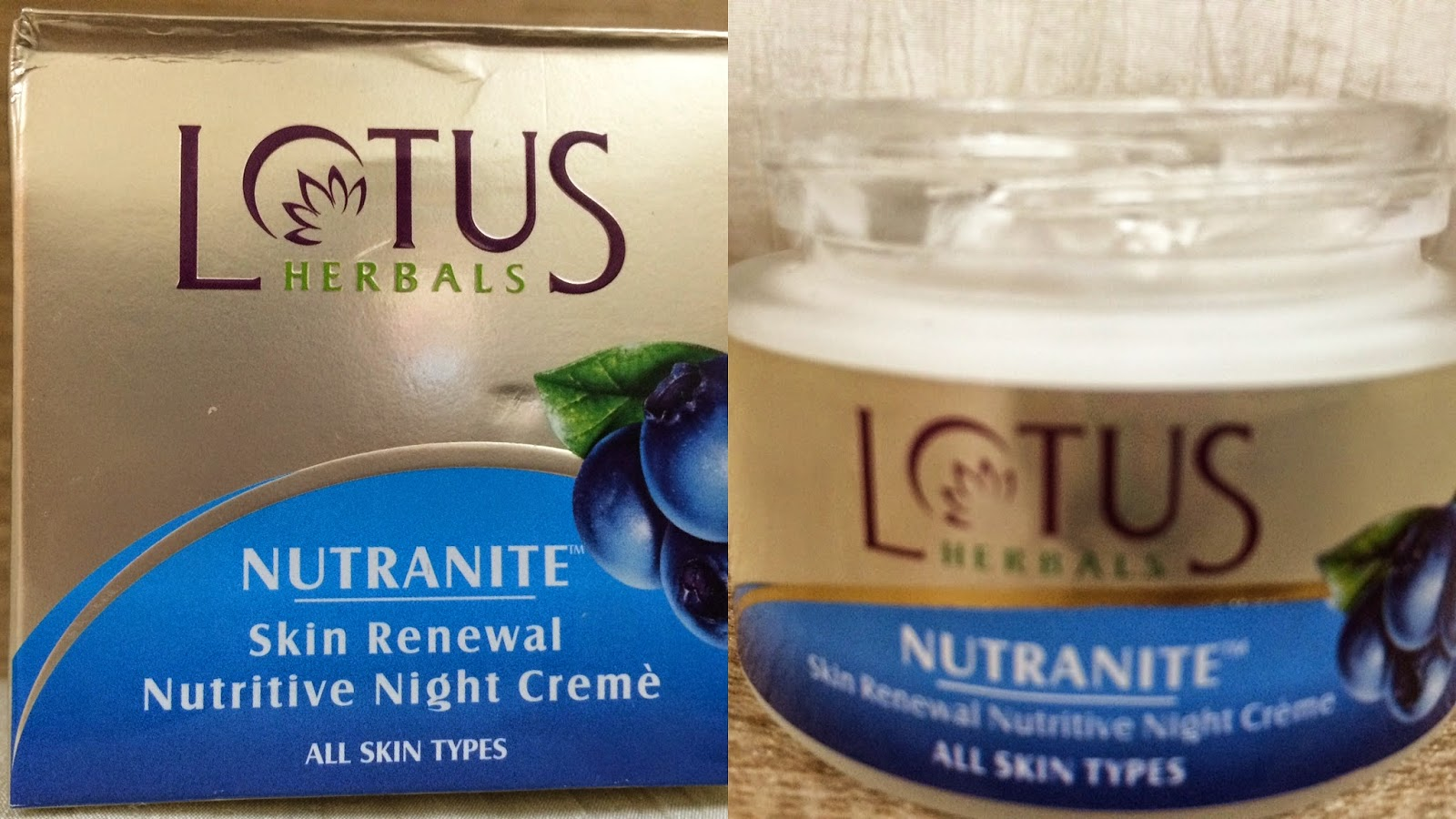 Lotus Day And Night Cream Review