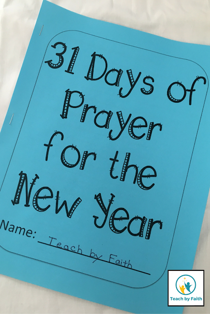 31 Days of Prayer for the New Year - Teach by Faith
