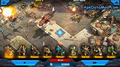 Epic war td 2 1 02 by amt games apk data mod