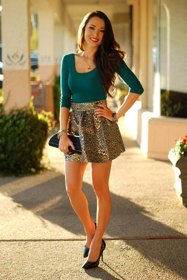 7ccd2ece5 13 Classy St Patricks Day Outfits for Women Fashion Ideas