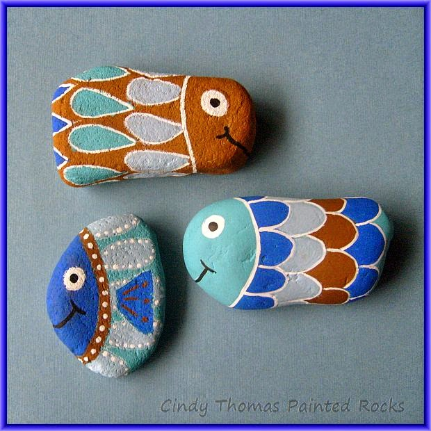 Cindy Thomas Stones Painting Craft Ideas And Art Projects